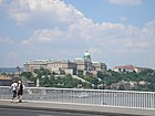 Budapest - View of castle from Elisabeth Bridge.jpg