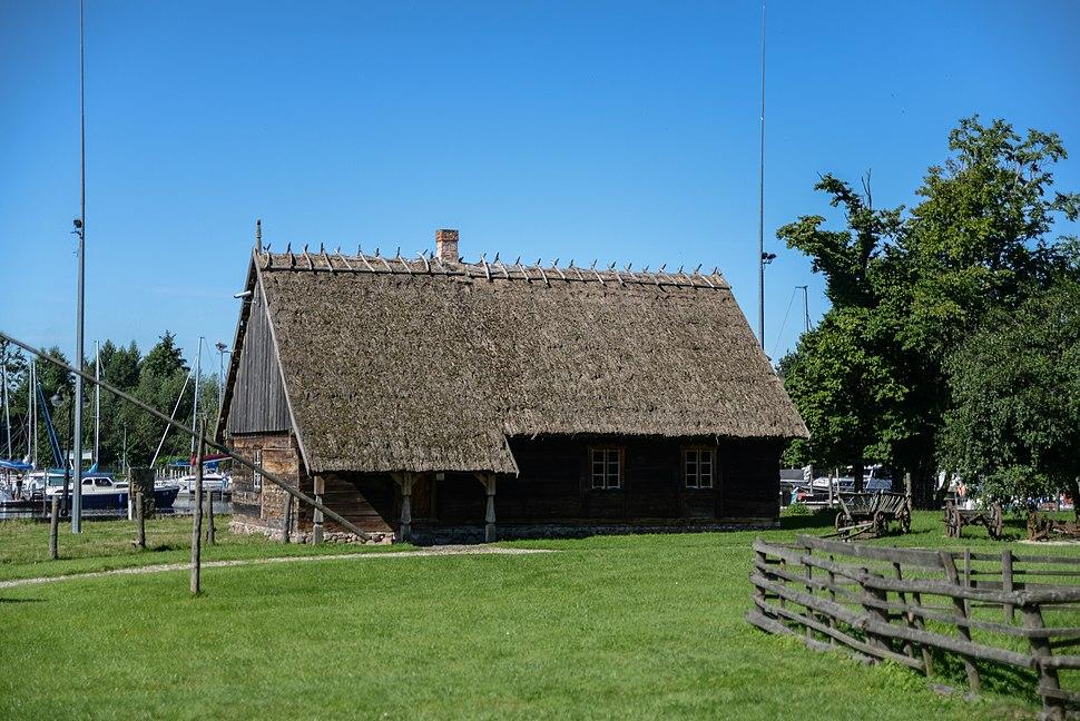 Budynek w Parku etnograficznym w Węgorzewie