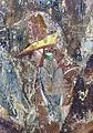Buffalmacco, trionfo della morte, incontro dei tre vivi coi tre morti 21 cavaliere con falcone.jpg