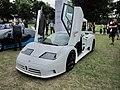 Bugatti EB110 at Chelsea Auto Legends 2012 (Ank Kumar) 01.jpg