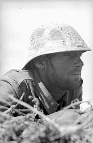 Operation Uranus - Romanian soldier on the front