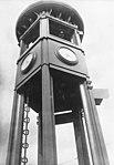 Erster Verkehrsturm (Ampel) auf dem Potsdamer Platz in Berlin, 1925