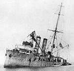 Bundesarchiv Bild 183-S61670, Stranded mine cruiser SMS Albatros.jpg