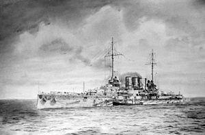 """SMS Ostfriesland - Image: Bundesarchiv DVM 10 Bild 23 61 25, Linienschiff """"SMS Ostfriesland"""""""