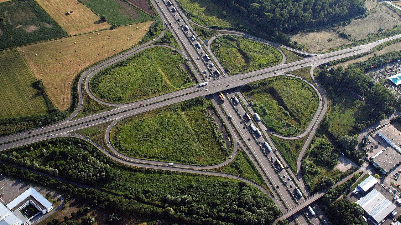 Karlsruhe Autobahn