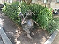 Bunyip statue outside the State Library Victoria, Australia.jpg