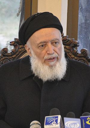 Burhanuddin Rabbani - Rabbani in December 2010.