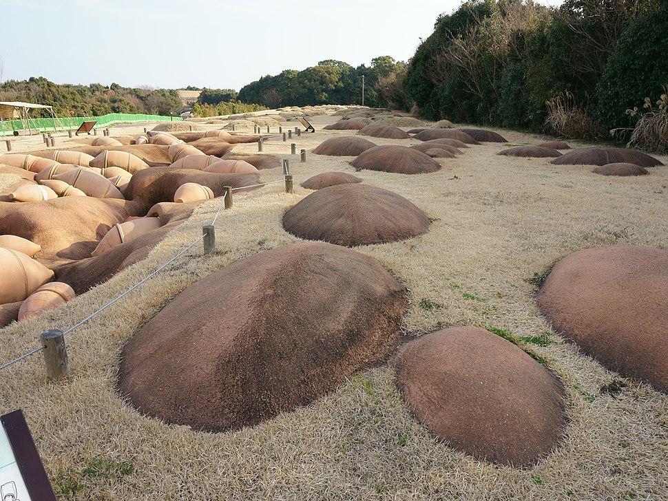 Burial jar cemetery in Yoshinogari Site