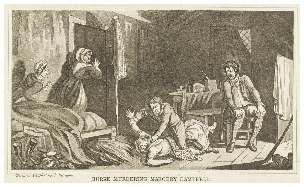Burke Murdering Margery Campbell
