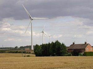 Burton Latimer - Image: Burton Latimer Wind farm