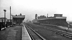Bury St Edmunds railway station - The station in 1966