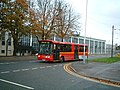 Bus passes RAF West Drayton - geograph.org.uk - 76380.jpg