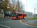 Bus passes RAF West Drayton - geograph.org.uk - 76380.jpg