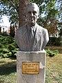 Bust of Ervin Baktay by Béla Domonkos. - Érd.JPG