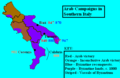 Byzantine-Arab Wars in southern Italy.PNG