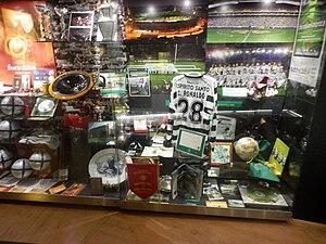 Cristiano Ronaldo - Ronaldo memorabilia at Sporting CP's museum