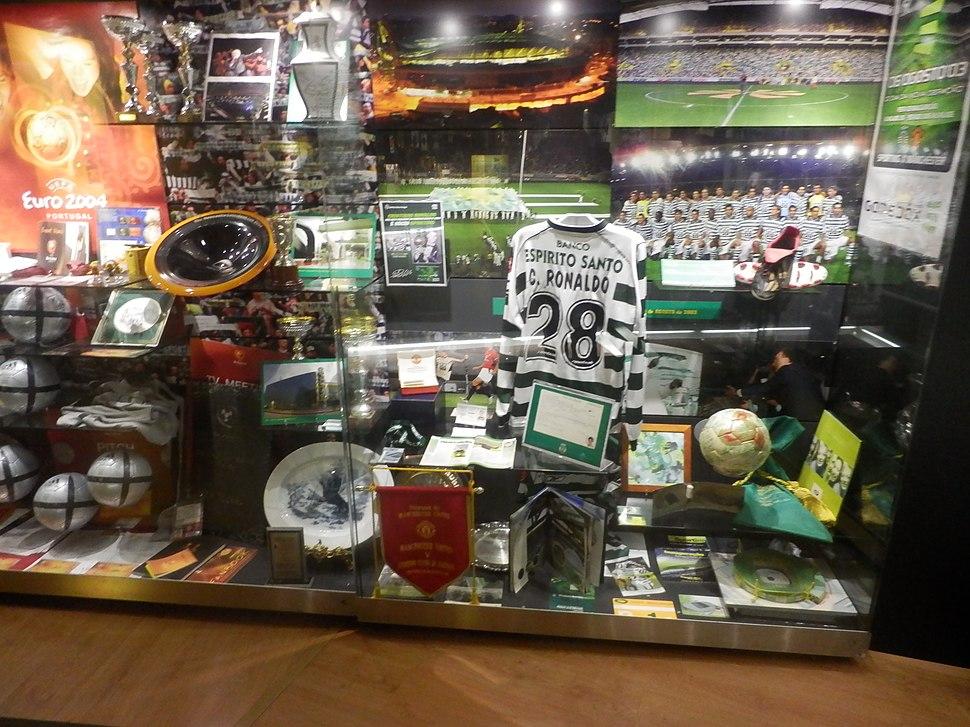 C.Ronaldo at Museum Mundo Sporting