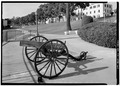 CANNON DETAIL, GATE 2 - U.S. Naval Hospital, Park Boulevard, Balboa Park, San Diego, San Diego County, CA HABS CAL,37-SANDI,27-60.tif