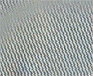 CD-R - Photomicrograph of the groove in a CD-R disc