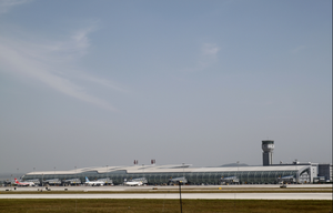 Changchun Longjia International Airport - Image: CGQ Overview