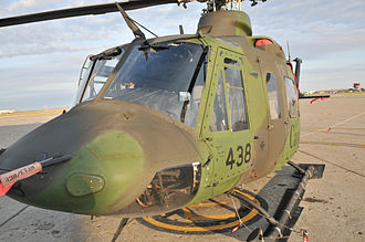 438 Tactical Helicopter Squadron - Griffon number 438 operated by Tactical Helicopter Squadron of the same number.
