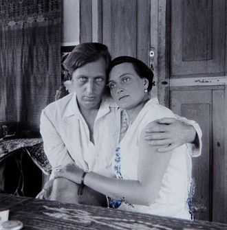 Walter Spies - Walter Spies with Angelica Archipenko circa 1930