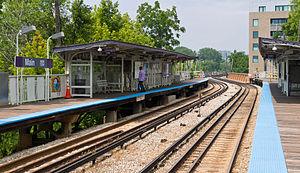Main station (CTA) - Image: CTA Main 20120714
