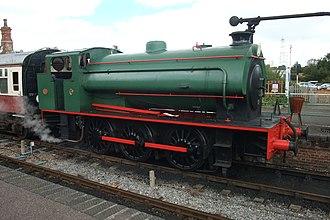 Colne Valley Railway - Image: CVR 0 6 0 Saddle Tank Engine 2