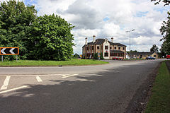 Caenby Corner roundabout-Geograph-1316490-by-Peter-Church.jpg