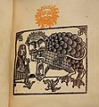 Caesar-Antichrist by Alfred Jarry, Mercure de France, 1895, woodcuts - The Carnival of Being (Alfred Jarry at the Morgan) - Morgan Library & Museum - New York City - DSC06829.jpg