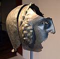 Calchi di elmi a maschera dalle serre di rapolano, I sec. ac. (origimali al museo a.n. di Firenze) 03.JPG