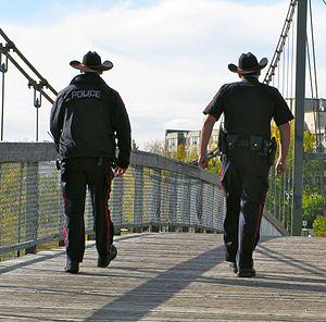 Calgary Police Service - Calgary police on patrol