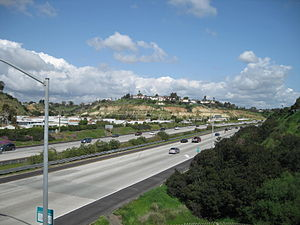 California State Route 54 - The South Bay Freeway east of I-805