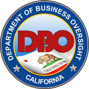 California Department of Business Oversight - Image: California Department of Business Oversight