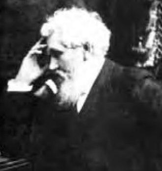 Thomas Bard McFarland - Cropped 1890 image of California Supreme Court Justice Thomas B. McFarland.