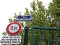 Caluire-et-Cuire - Rue de Margnolles, plaque.jpg