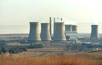 Camden Power Station - Image: Camdenkragstasie, Ermelo, Mpumalanga, b