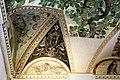 Camillo mantovano, volta della sala a fogliami di palazzo grimani, 1560-65 ca., lunette con grottesche e rebus allusivi al processo per eresia di giovanni grimani 05.jpg