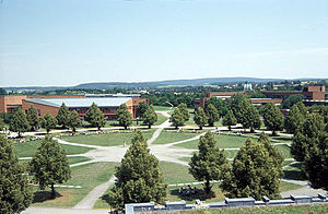 University of Bayreuth - The campus of the University of Bayreuth
