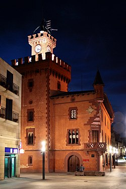 Town hall, Viladecans