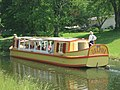 Canal boat reproduction at Delphi.jpg