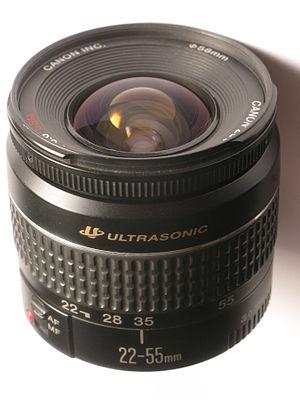 Canon EF 22–55mm lens - Image: Canon EF 22 55 mm f 4 5,6 USM