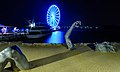 Capital Wheel Blue LED at night.jpg