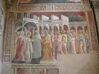 Bartolini Salimbeni Chapel - Marriage of the Virgin