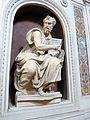 Cappella della compagnia di s. luca, int, statue, giovanni vincenzo casali e valerio cioli, san giov. evangelista, 02.JPG