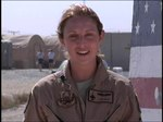 File:Capt. Jennifer Wade, USAF Female F-16 Pilot, sends a greetings from Bagram Air Field, Afghanistan for Holiday Season 2010 (DOD HC1008153-7).webm