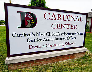 Davison Community Schools - Image: Cardinal Center