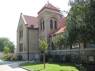 Hanford, California - Hanford Carnegie Museum.