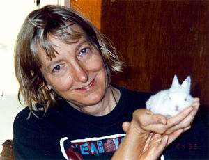An Introduction to Animals and Political Theory - Cochrane considers but rejects the arguments of Carol J. Adams (pictured) that the oppression of women and of animals is linked through the cultural practice of meat-eating.