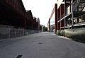 Carrer entre els coberts i altres edificis, port de València.JPG